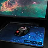 ENHANCE GX-M1 Gaming Mouse with 3500 DPI, Optical Sensor & Color-Changing LED Lights for PC Computers - Perfect for TitanFall, Battlefield 4, Counter-Strike: Global Offensive & More