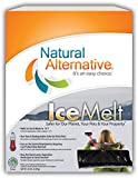 Natural Alternative Ice Melt Another NATURLAWN Product - 20 Lb Storage & Carry Carton with Handle - Safer for Pets, Property & The Environment