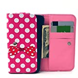 Universal Wallet Case, Univeral Wallet Bag For Cell Phone,Tikeda Premium PU Leather Wallet Flip Protective Skin Case for Apple iPhone 4S,Apple Touch 5, Samsung Galaxy G313H/G357/S7562/S7582/I9100/I9250/I9190/G3502/G350E/S765C/I9103/S765C/I9103, Nokia X2/N9/N820, Sony ST26I/Z1MINI/Z3MINI/LT22I,HUAWEI Y330,HTC ONE V/G10,Motorola Mote E,MEIZU MX2,LENOVO A308,MI 1,Alcatel C3, or Other Smartphones Within 12.8*6.8*2.1CM