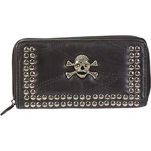 EmbassyTM Italian StoneTM Design Genuine Lambskin Leather Wallet