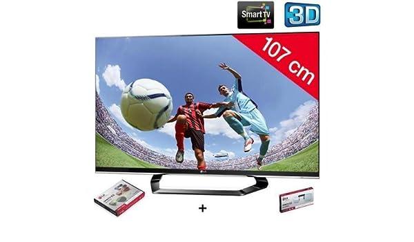 LG Televisor LED 3D 42lm660s HD TV 1080p, 42 Pulgadas (107 cm) 16 ...