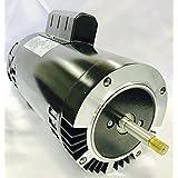 GW YY5682-L7C 2 HP, 3450RPM, 1.3 Service Factor, 56J Frame, ODP Enclosure, 208-230V, Round Flange Pool Motor