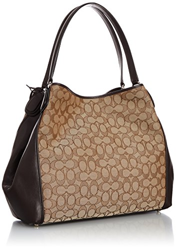 khaki brown b Main Coach Femme Cm Marron Sacs 34x28x16 X H 000 li 33523 Portés T 7nqfqwp0H8