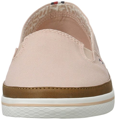 Tommy K1285esha 7d 502 Femme Sneakers Basses Hilfiger Rose dusty ZZw5qRrTa