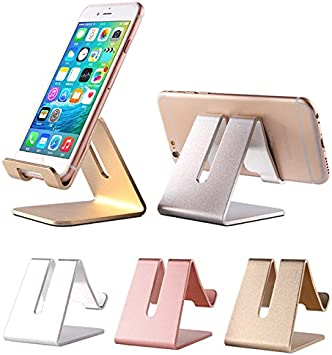 iPhone soporte, teléfono móvil soporte, aluminio sólido soporte de ...