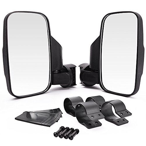 Side Mount Rubber (MICTUNING UTV Side Mirror with 1.75