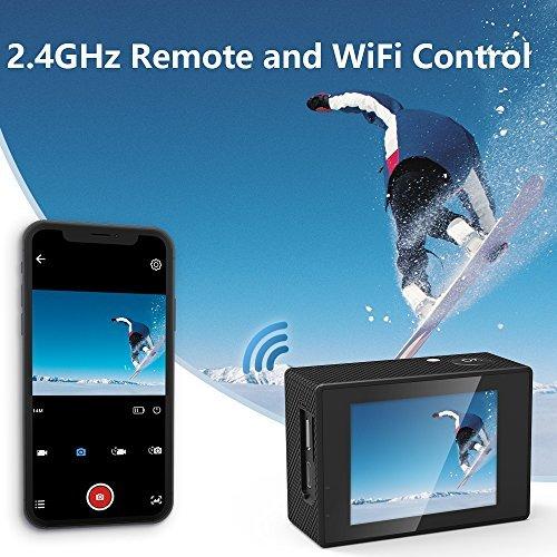 Action Camera SJCAM SJ4000 WIFI FHD1080P waterproof Underwater Camera 12MP Sports Camcorder 2.0 LCD Screen Display -Black by SJCAM (Image #5)