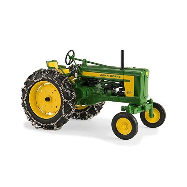 TOMY 1/16th Prestige Series John Deere 620 with Chains 45544 1