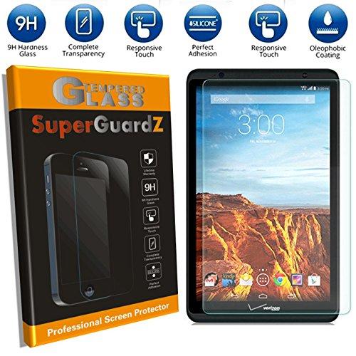 [2 PACK] Verizon Ellipsis 8 - SuperGuardZ® Tempered Glass Screen Protector - 9H, 2.5D Round Edge, Anti-Scratch, Anti-Bubble [Lifetime Warranty]