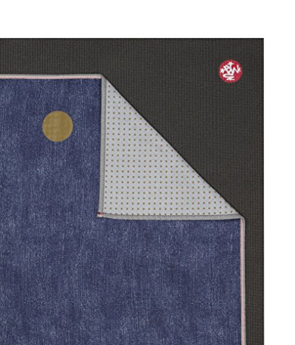 Manduka Denim Collection Yoga Mat Towel, Indigo