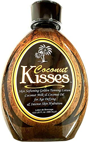 Ed Hardy Coconut Kisses Golden Tanning Lotion, 13.5