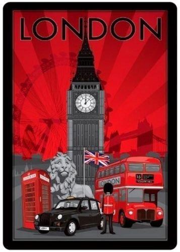 London art fridge magnet 3 1/2
