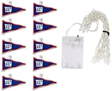 NFL New York Giants LED Pennant Party Lights
