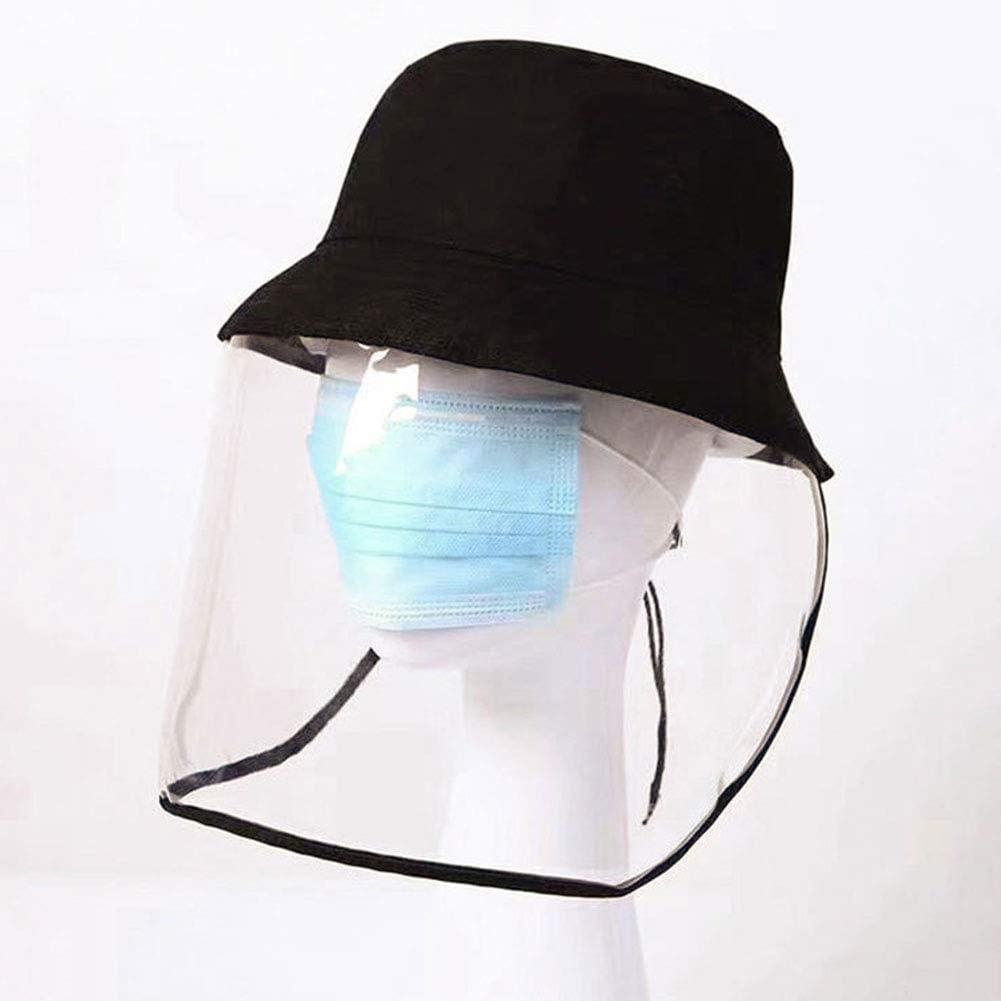 Visi/ère de Sport Casquette de p/êche en Plein air Masque Transparent Sable Coupe-Vent Protection UV Splash /étanche Convient aux Sports Courir Voyage