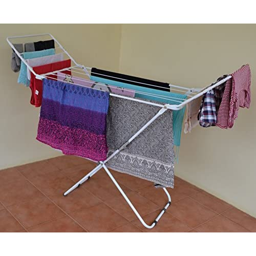 LD Paffy Expanding Clothes Drying Stand Three Way Folding