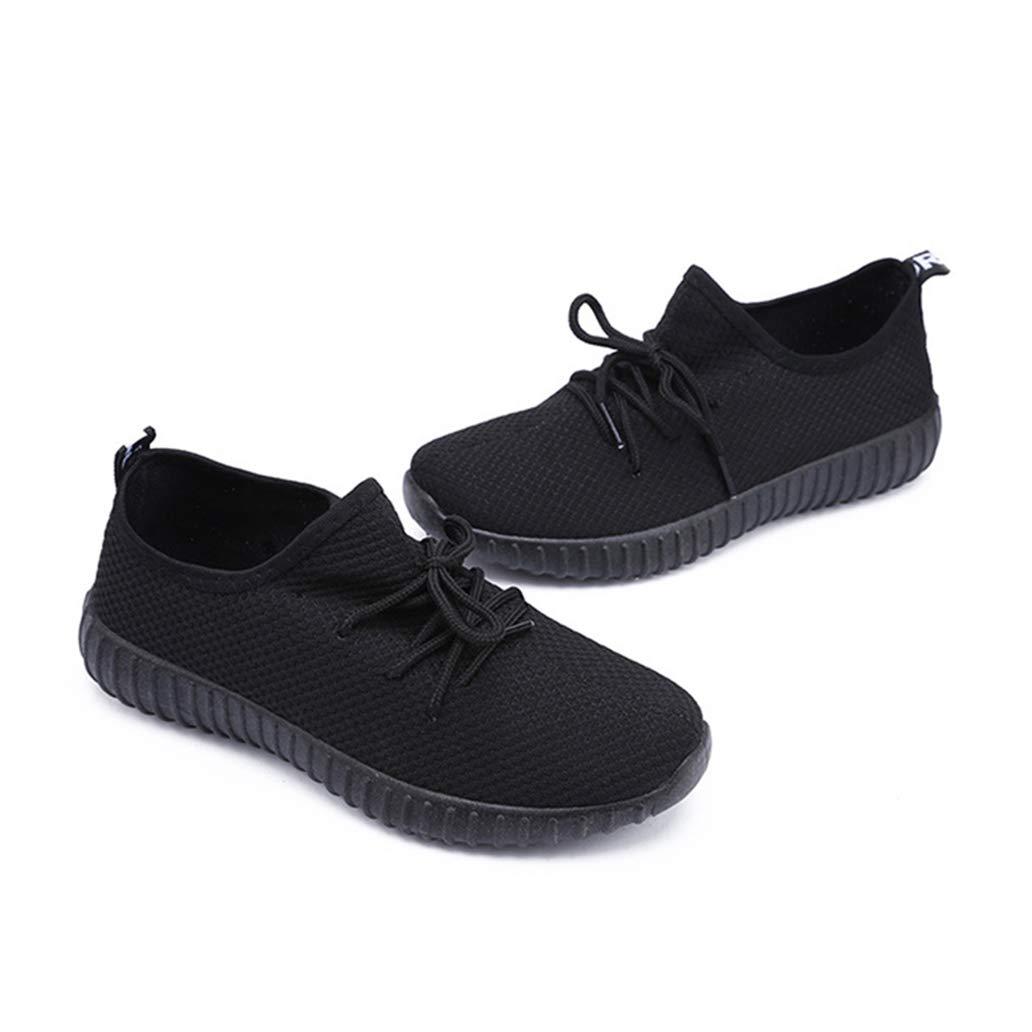 York Zhu Women Fashion Sneakers Basket Chaussure Air Mesh Casual Walking Outdoor Shoes