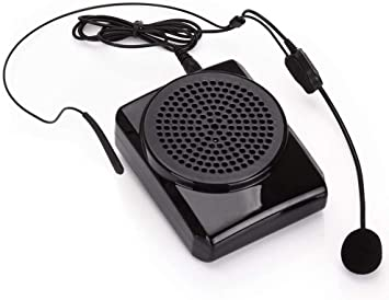 Aker MR1505 - Amplificador para auriculares con micrófono, negro: Amazon.es: Electrónica