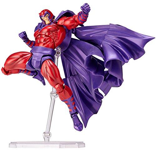 Figure complex AMAZING YAMAGUCHI Magneto magneto about 165 mm ABS & PVC pre-painted action figure Revoltech
