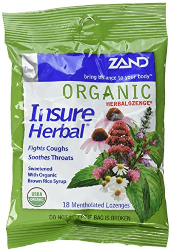 Zand Herbal Lozenge Organic Herb Cough Drops, 3 Count ()