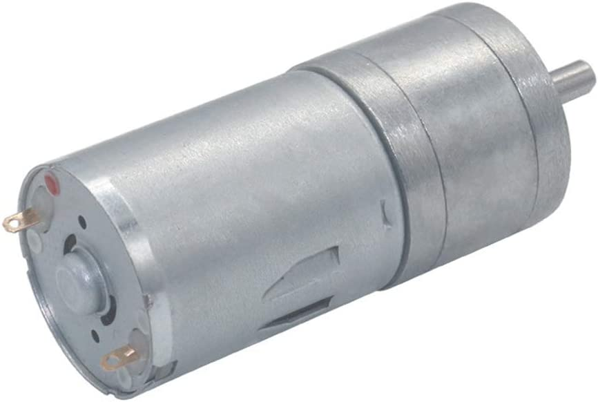 BestTong DC 24V 7.5RPM Gear Motor High Torque Electric Micro Speed Reduction Geared Motor Centric Output Shaft