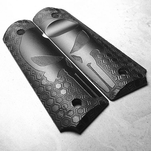 1911 full size punisher grips - 5