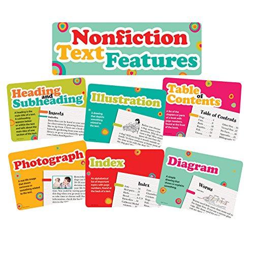 Edupress Nonfiction Text Features Bulletin Board (EP62381)