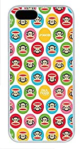 iPhone 5 5S Case Paul Frank PC Custom iPhone 5 5S Case Cover White by mcsharks