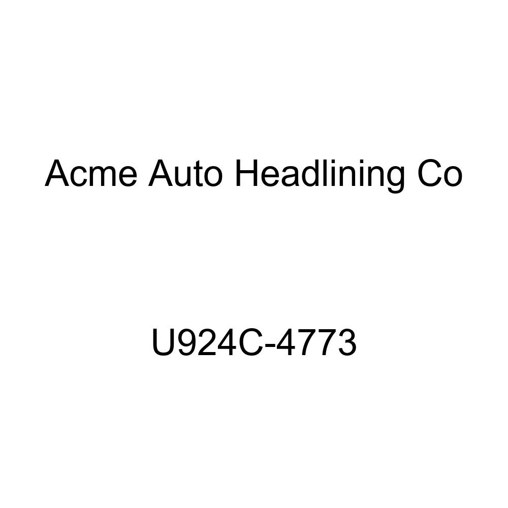 Acme U924C-4773 Front and Rear Saddle Vinyl Bench Seat Upholstery