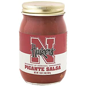 Hot Sauce Harry's Nebraska Cornhuskers Picante Salsa by Hot Sauce Harry's Inc.