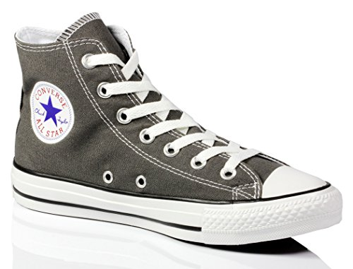Converse Mens Chuck Taylor All Star High Top, 10 B (m) Us Women / 8 D (m) Us Men, Charcoal
