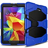 Samsung Galaxy Tab A 10.1 Case(SM-T580),Slim Heavy Duty Shockproof Rugged Case High Impact Resistant Full Body Protective Cover with Screen Protector
