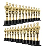 "Prextex 6"" Gold Award Trophys for Award Ceremony's or Party (24 Pack)"