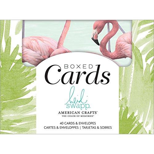 [해외]Heidi Swapp 349557 Pineapple Crush Cards & Envelopes Multicolor / Heidi Swapp 349557 Pineapple Crush Cards & Envelopes, Multicolor