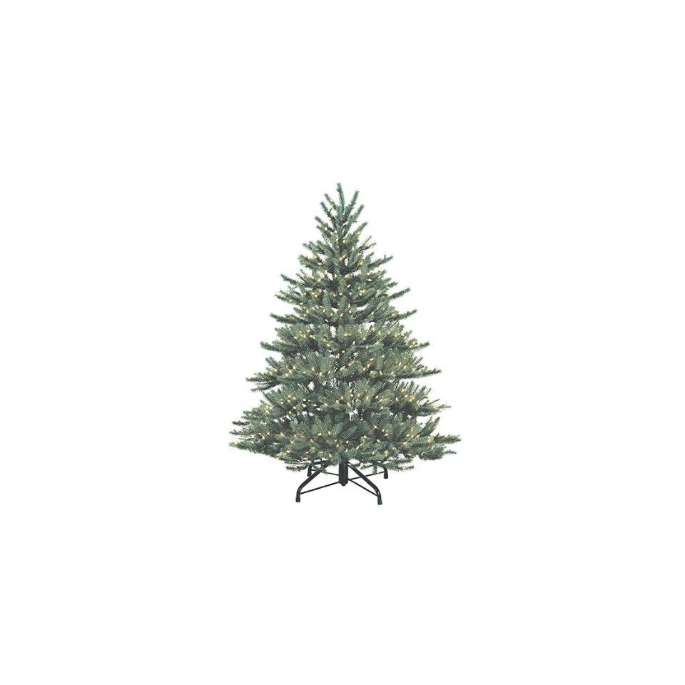 4.5' Just Cut Aspen Frasier Fir Pre Lit Artificial Christmas Tree   Clear Lights