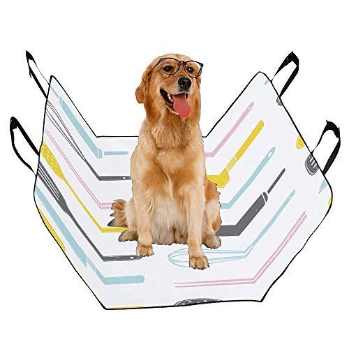 JTMOVING Fashion Oxford Pet Car Seat Chopsticks Chinese Cuisine Kitchenware Waterproof Nonslip Canine Pet Dog Bed Hammock Convertible for Cars Trucks ()