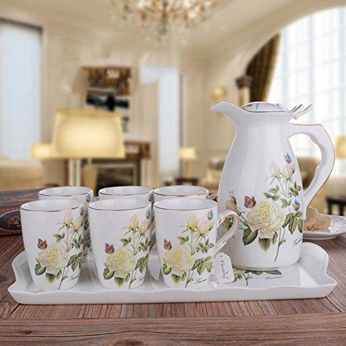 European Ceramic Cup Set/ Creative Water Kit/Cool-Water Bottles-B