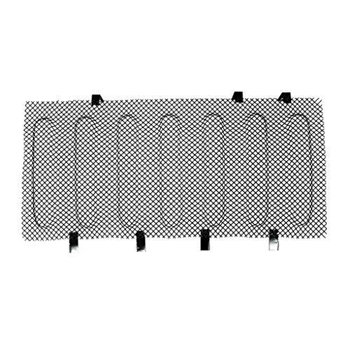 Black Stainless Steel Mesh Grille Insert Bug Screen for 07-17 Jeep Wrangler JK