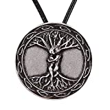 Paw Paw House Yoga Inspired Kybalion Pendant Necklace Amulet Tree of Life Talisma Chi As Above As Below As Within As Without Meditation (4100)