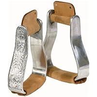 Pfiff 005094-70-Full - Estribos chapados en Aluminio (Caballos