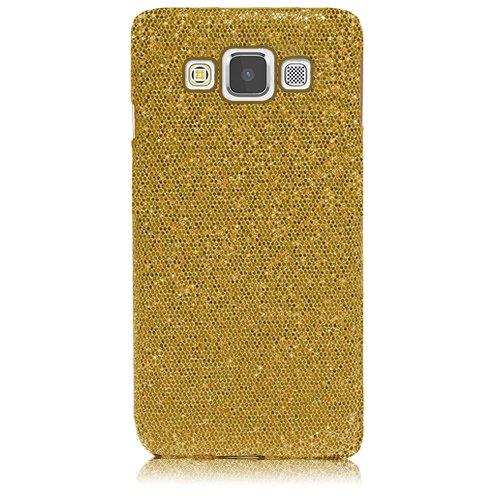 Xtra-Funky Serie Samsung Galaxy A5 brillantes caso del brillo chispeante de lentejuelas del brillo - Rosa Oro