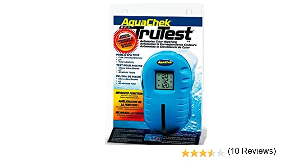 AquaChek TruTest analizador medidor digital cloro pH piscina spa: Amazon.es: Amazon.es