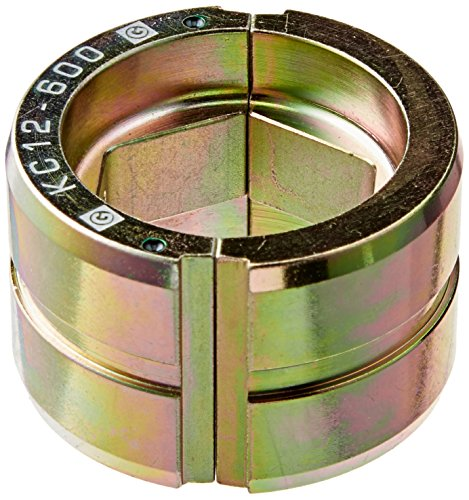 Greenlee KC12-600 Crimping Die for Greenlee 12-Ton Tools, Copper, 600 Kcmil MCM