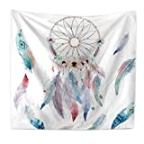 Tapestry Wall Hanging Dream Catcher Hippie Beach India Art Cool Bohemian Blanket Twin Size Style 2