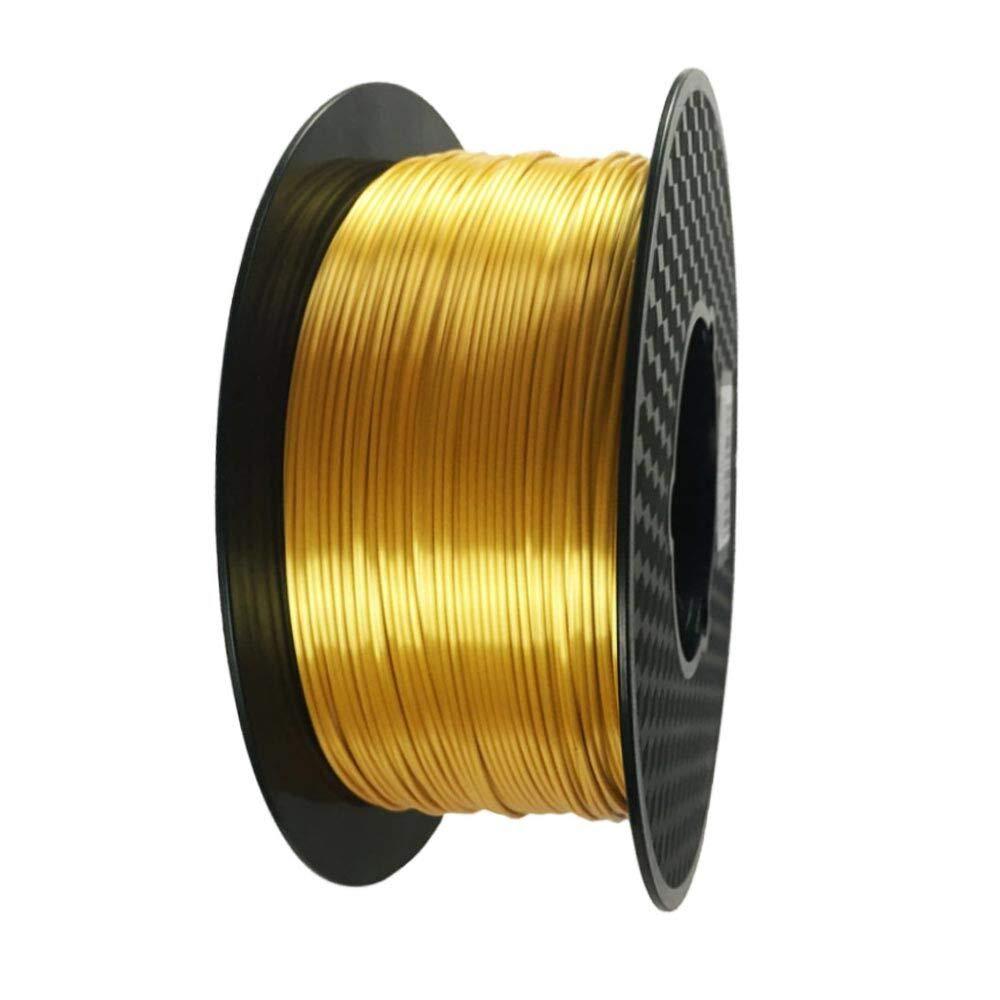 Eono Silk Gold PLA Filament 1.75 mm 3D Printer Filament 1KG 2.2 ...