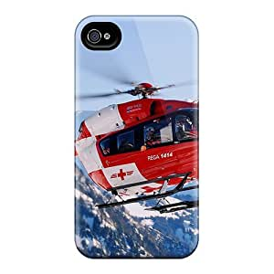 Premium Iphone 4/4s Case - Protective Skin - High Quality For Rescue Chopper