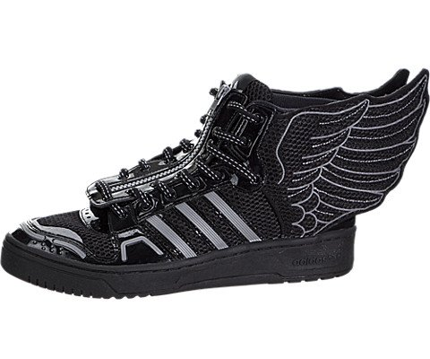 adidas Jeremy Scott Mesh Wings 2.0 Mens In Black/White by, - Scott Mens Jeremy