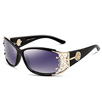 ZHOUYF Gafas de Sol Gafas De Sol Retro Señoras ...