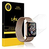 [6 Pack] LK for Apple Watch Series 4 Screen Protector 40mm,...