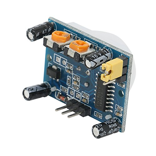 HC-SR501 Adjustable IR Pyroelectric Infrared PIR Motion Sensor Detector PID Modules for Arduino & Raspberry Pi Projects 5 Pairs by Ardest (Image #2)
