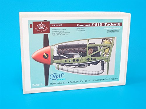 HPH Engine P-51 (Packard) 1 18 Resin Kit